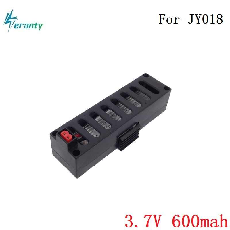 Original 3.7V 600mah Lipo Battery for JY018 RC Helicopter Accessories Battery For EACHINE E52 JY 018  3.7V 600mah Batteries Lipo