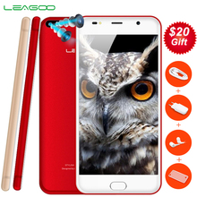 3G LEAGOO M7 1 GB + 8 GB Double Caméra Arrière 5.5 »2.5D Courbe Freeme Android 7.0 MT6580 (MTK6580A) Quad Core Identification Des Empreintes Digitales