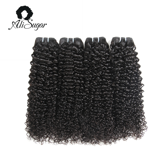 Ali Sugar Hair Indian Kinky Curly 100 Virgin Hair Bundle Deals