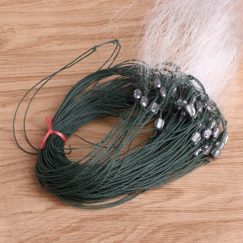 25m rede de pesca 3 camadas malha