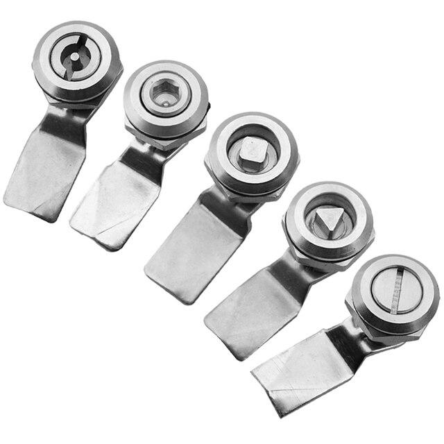 1pcs Stainless Steel Metrohsrtrain Door Lock Multifunction
