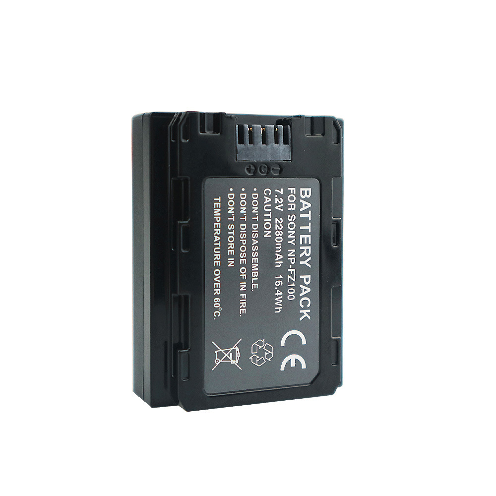 2pcs NP-FZ100 NPFZ100 NP FZ100 Battery For Sony FZ100 Battery A7R III A7 III BC-QZ1 A9/A9R Alpha9 Alpha9R Alpha 9S A7RM3 Camera