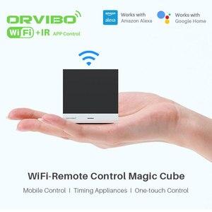 Image 2 - Orvibo sihirli küp evrensel akıllı kontrol öğrenme fonksiyonu ile WiFi IR kablosuz uzaktan kumanda akıllı ev otomasyonu