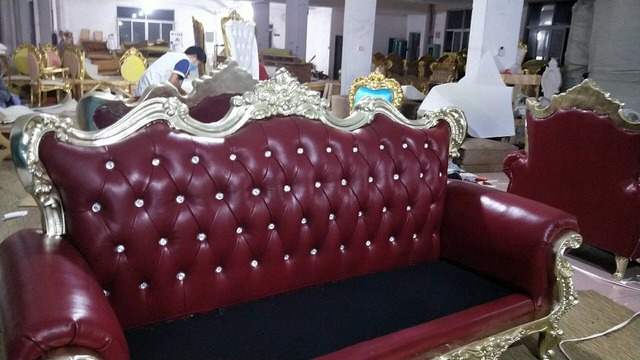 Living Room Sofa setreal genuine cow leather sectional sofas 1+2+3 seater+ table neoclassical muebles de sala moveis para casa