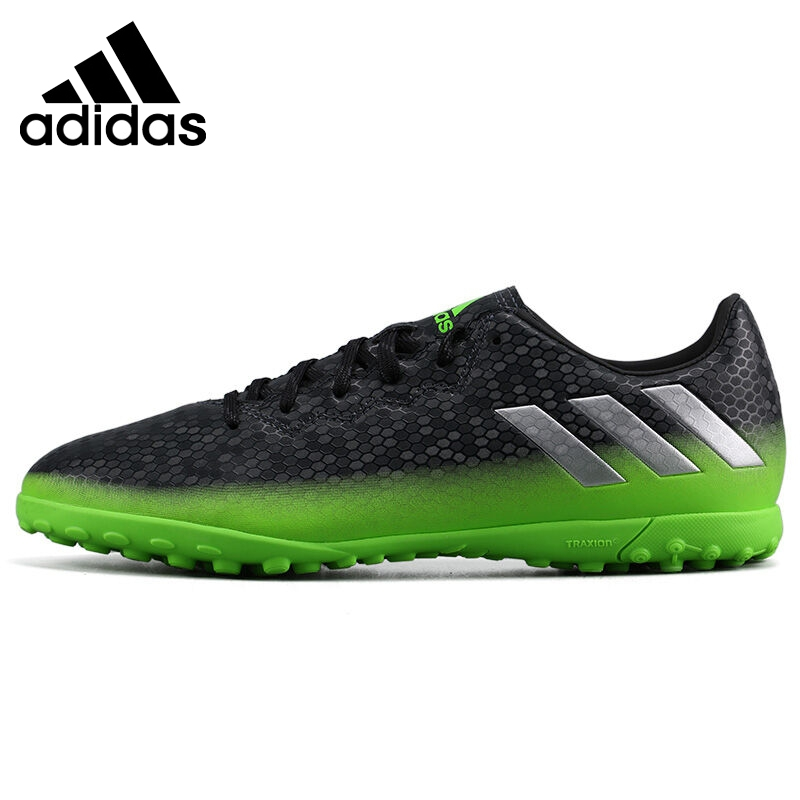 Original  Adidas 16.4 TF Men's Football Soccer Shoes Sneakers health top soccer shoes kids football boots cleats futsal shoes adult child crushed breathable sport football shoes plus 36 45
