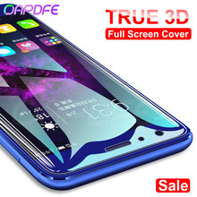 OAPDFE 3D Full Cover Tempered Glass on the For Huawei Honor 9 Lite V10 V9 Play Screen Protective 10 8 Film