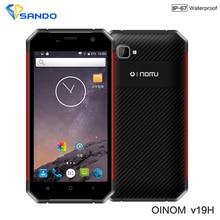 Android6.0 Rugged Phone IP68 Octa Core Waterproof 4G LTE Dual Sim slim Shockproof Original Oinom LMV19 4G RAM 64G ROM 13.0MP