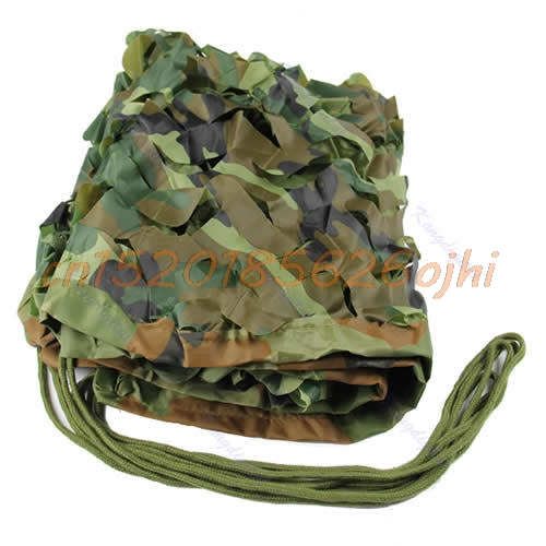 Military Photography Woodland Leaves Camouflage Camo Net For Hunting - Camping and Hiking