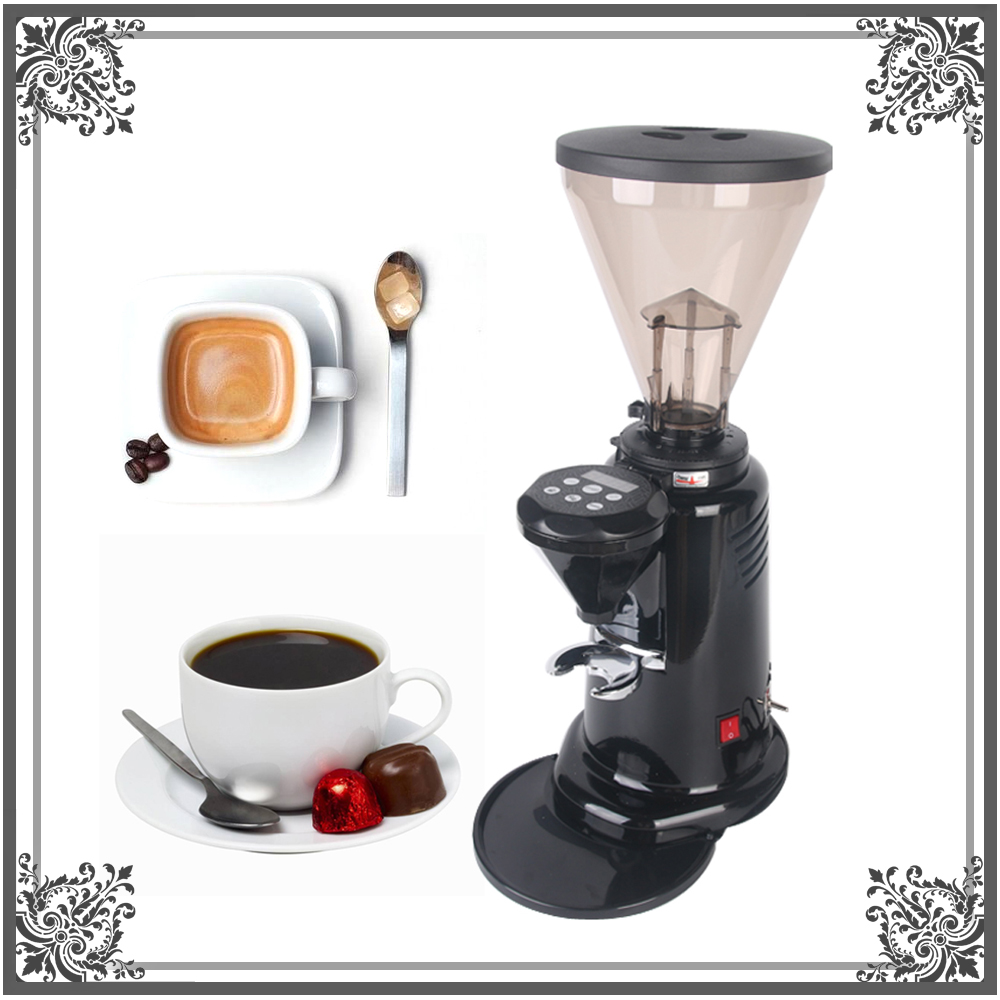 Commercial Electric Coffee Grinder Italian Coffee Grinder Dry Food Mill Grinding Machine 110V 200V 350W  1 pc for Coffee Shop mdj d4072 professional commercial household coffee grinder high quality electric coffee machine advanced grinding 220v 150w 30g page 9