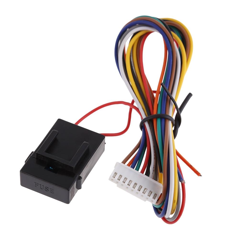 Car Side Mirror Automatic Lock Folding Kit System Avoid Collision ...