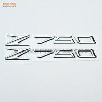 3d pvc Z750 النارية الديكور ملصقا ل كاواساكي z750