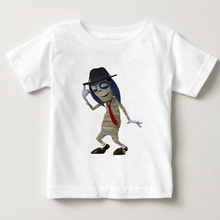 Zombies Cartoon Children T Shirts Boys Kids T-Shirt Designs Teen Clothing For Baby Girls T-Shirts Hanna MJ