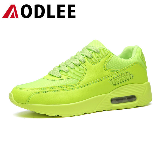 AODLEE Mens Shoes Casual Breathable Big Size 45 Air Cushion Fashion Sneakers Men Casual Shoes Leather Shoes Men Sneakers Lace up