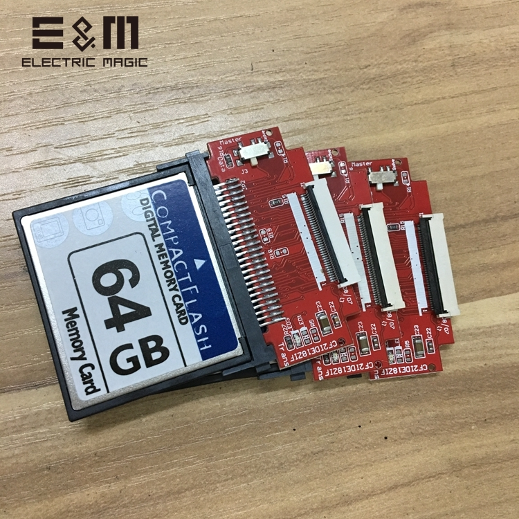 Mod Solid State CF Card To Solid State Flash Memory Hard Disk For IPod 5 Apple IPC IPV Microsoft ZUNE Audio Player