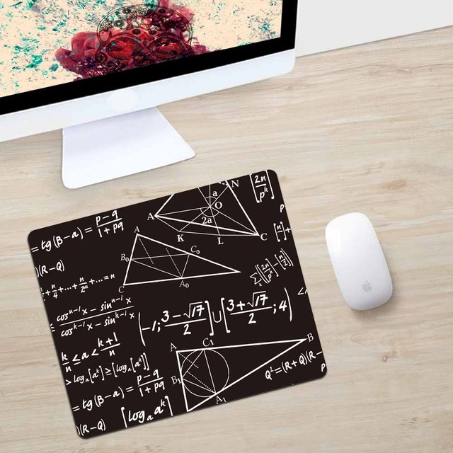 rubber fabric Mouse pad Computer Gaming Mouse Pad Print School Image 240x200mm mouse pad