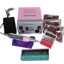 Pro Electric Nail Manicure Polishing Machine Professional Manicure Pedicure Tool Electric Drill File Pen Nail Art Machine Set