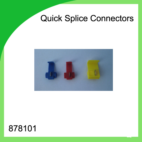 Red copper 1000 PCS 878101 Scotch Lock Wire Quick Splice Connectors ...