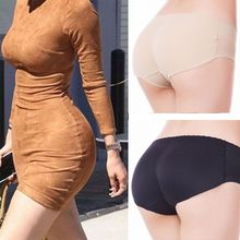 Women Butt Lifter Fake Body Shaper Seamless Underwear High Waist Panties Lift Pad Control Buttocks