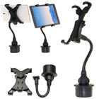 Yu yunai Adjustable 7 8 9 10 Inch Universal Tablet Holder Car Cup Tablet Mount Holder 360 Degrees Rotation Stand Bracket