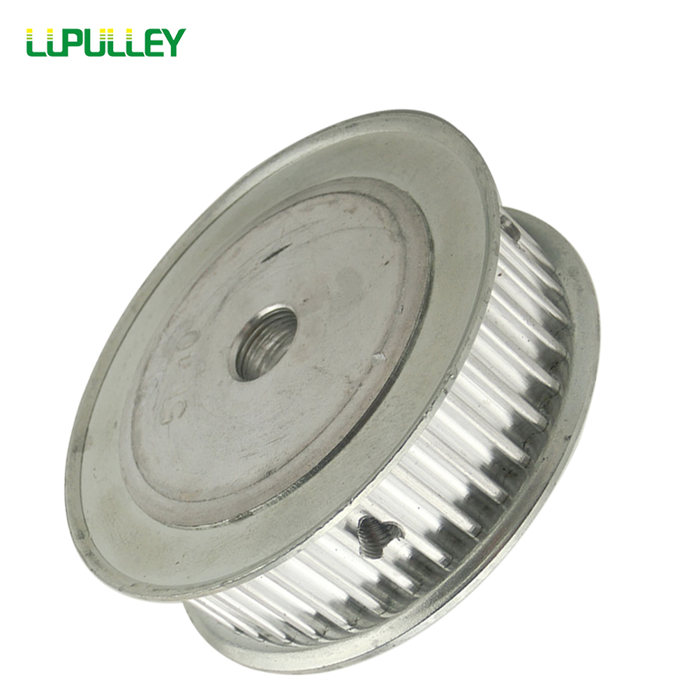 Lupulley Htd Timing Belt Pulley Gear 3m Type Deceleration Suite 1 Pulleys 100t 16mm Width 3mm Pitch12mm Bore Synchronous For Cnc
