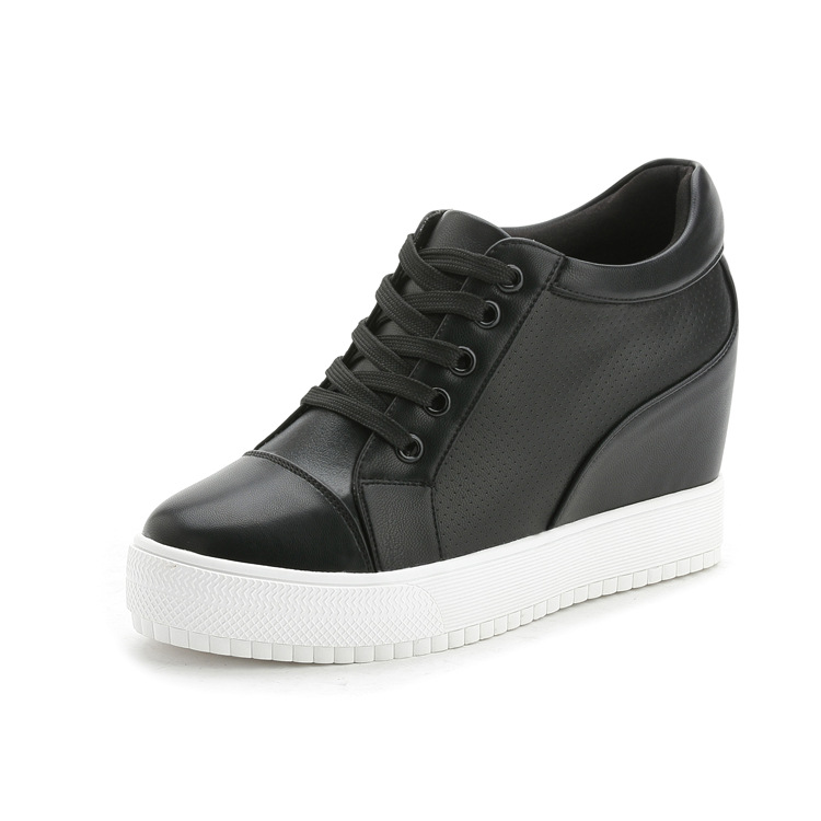 Casual Withe genuine leather Winter Autumn shoes 4