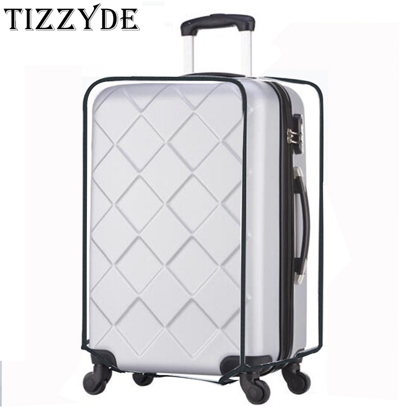 Luggage Cover Transparent PVC Trolley Suitcase Protective Cover Waterproof Travel Accessories Bag Size 18-30 Inch CXL01