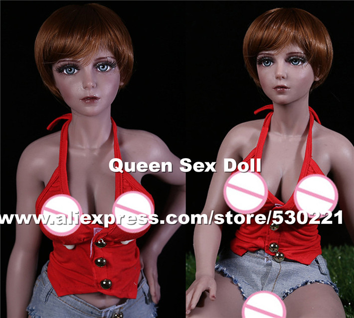 65cm Top quality black silicone font b sex b font font b dolls b font love