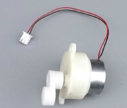 1Pcs DC 6v 9V 12v gear motor slow speed small motor 23-46rpm with eccentric gear