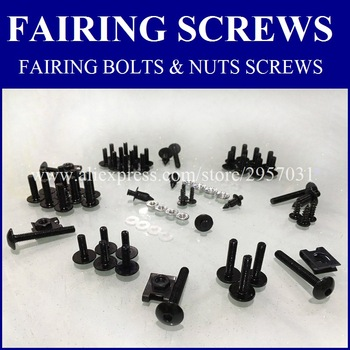 CJ Fairing bolts kit For SUZUKI KATANA 600 750 GSX 600F 750F GSX600F GSX750F 1998-2007 Body Fairing Bolt Screw Fastener Fixation image