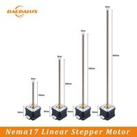 Daedalus 1PC Linear Stepper Motor Driver Module Nema 17 42 Stepping Motors With Optional Lead Screw Length For 3D Printer