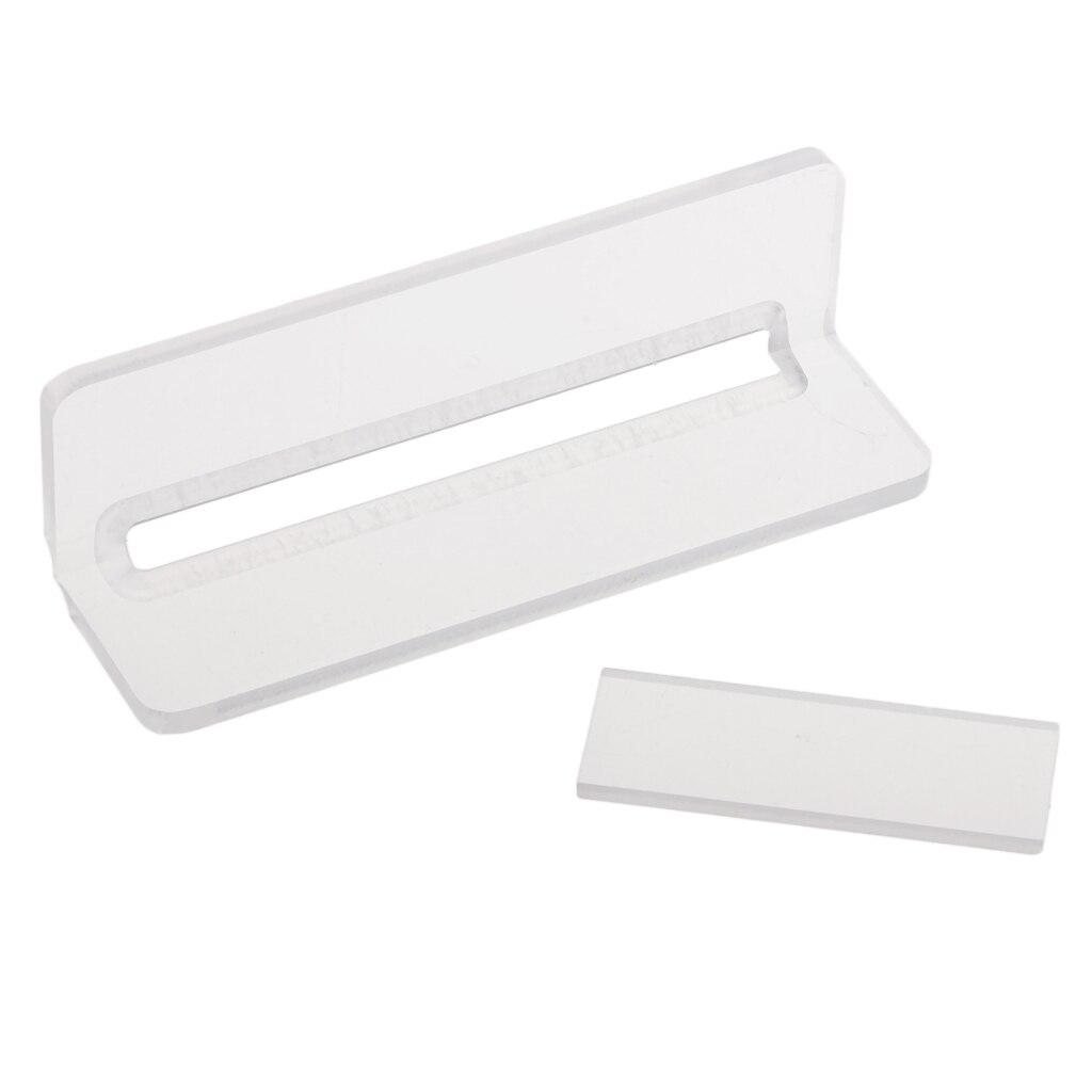 Multi-Function Acrylic Soap Cutter Handmade Soap Beveler//Planer Soap Making