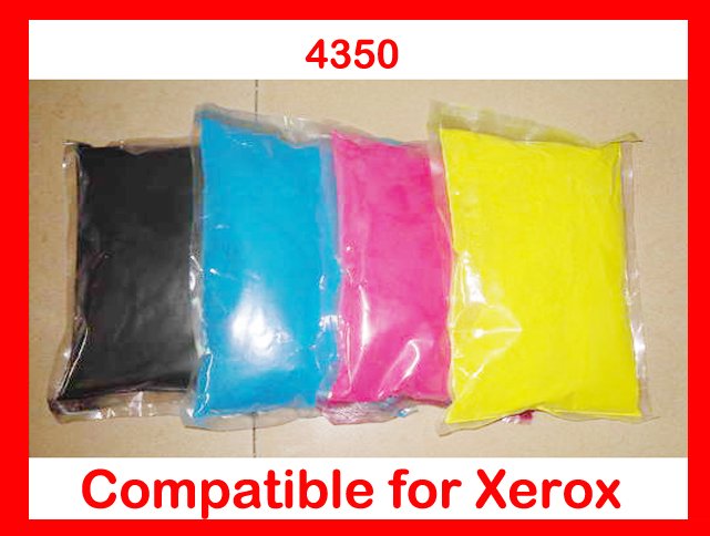 High quality color toner powder compatible for Xerox C4350/4350 Free Shipping high quality color toner powder compatible for konica minolta c203 c253 c353 c200 c220 c300 free shipping