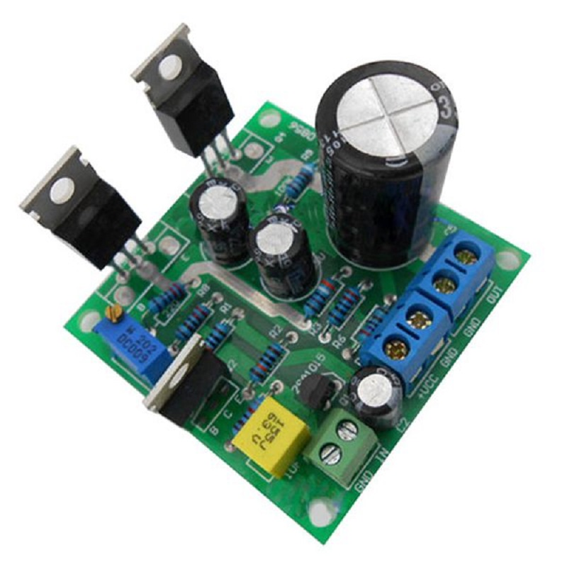 Amplifier Assemble Board 20W TIP41C DC 12-30V Mini 1969 Mono Channel Pure Class A Module Part