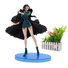 Anime One Piece 20th Anniversary Luffy Nico Robin PVC Action Figure Collectible Model Christmas Gift Toy For Children 16 cm стоимость