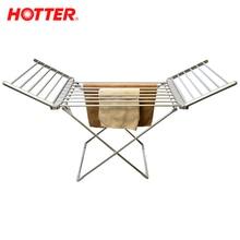 HOTTER HX-230 Электрическая сушилка для белья с откидными секциями, 230 Вт, Температура сушилки: 50-60 °С, Белье просушивается быстро, равномерно и всегда свежее, Легко складывается и раскладывается