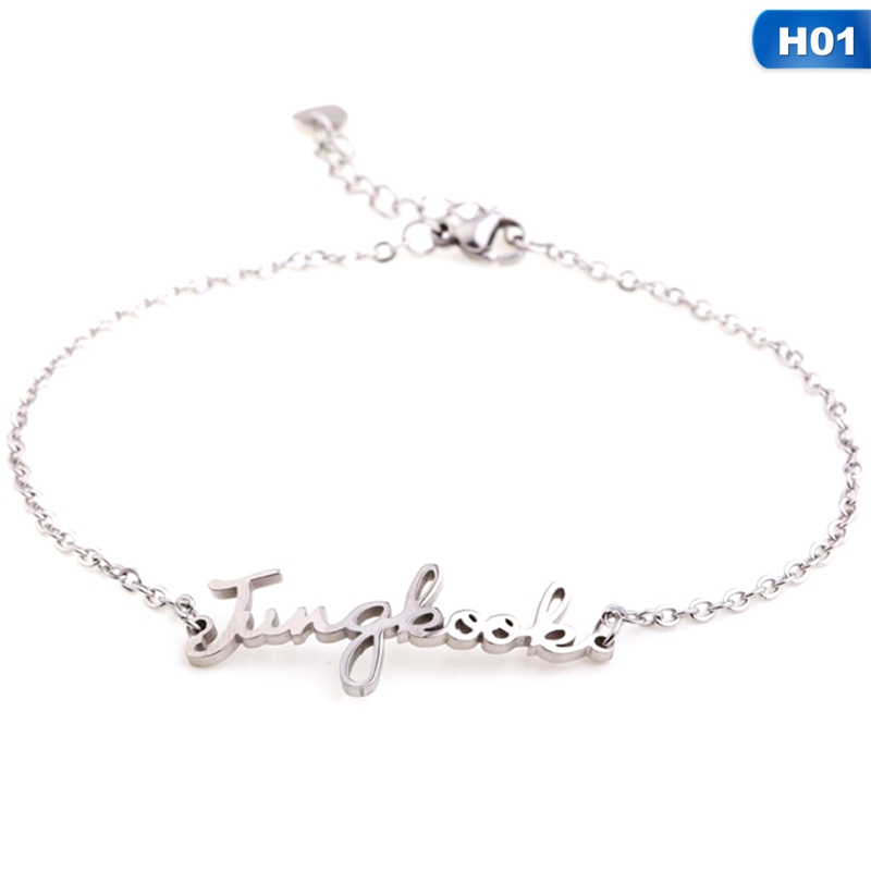 Fashion Silver Color Stainless Steel Mesh Bracelet Set Bangtan Boys Exo Charm Brand Bracelet Bangle For Woman Jewelry Gifts Jewelry & Accessories
