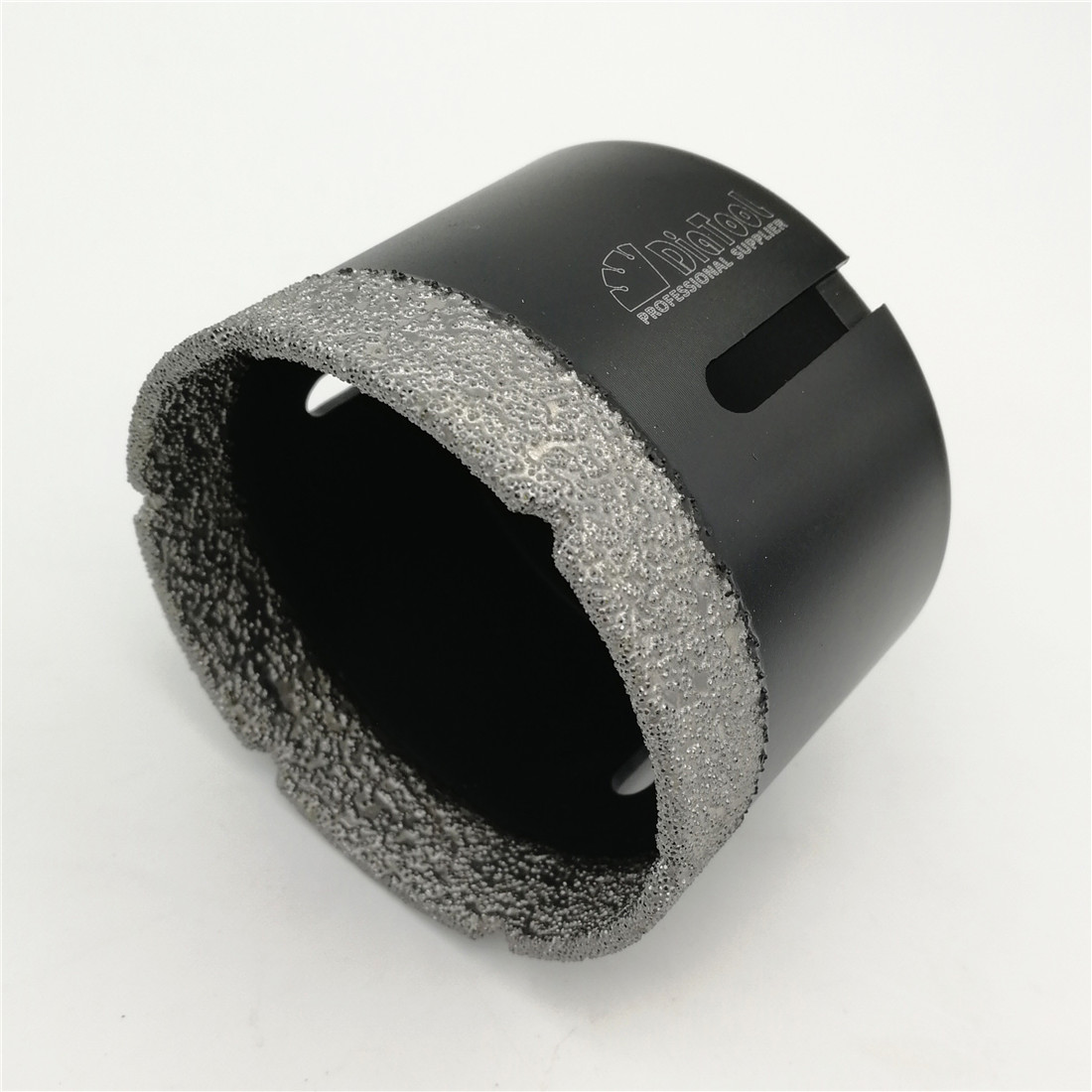 цена на DIATOOL 3 Vacuum brazed diamond Dry drilling bits with 5/8-11 connection Diameter 76mm for porcelain marble stone Masonry brick