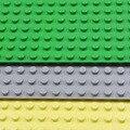 Новые Большие Блоки Опорная Плита 51*25.5 см Опорная Плита Совместимы с Legoe Duploe Дети Образовательные Кирпич Игрушки Блоки пластины