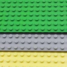 Big Blocks Base Plate 51 25 5cm Baseplate Compatible with major brand blocks Kids Educational Brick