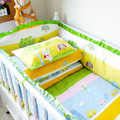 Comfortable 100% Cotton High Quality Baby Crib Bedding Set 4-10 Piece/Set Infant Cot Bedding Sets for Baby Bed Free Shipping