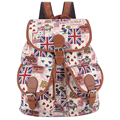 Exclusive New 2017 Printing Canvas Mochila Vintage Backpack Mochila Feminina Escolar School Bags Women Backpack Freeshipping