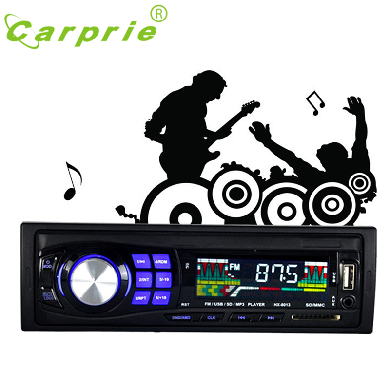 Tiptop Newest Design Car Stereo Audio In-Dash FM Aux Input Receiver SD USB MP3 Radio 2017 New Hot Wholesale Price_KXL0507