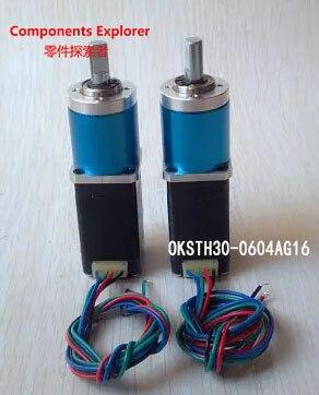 цена Stepper Motor,Geared Nema8 Stepper Motor OK20STH30-0604AG16 gear ratio 16:1