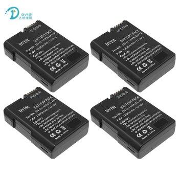 4Pcs/lot EN-EL14 Camera Battery for Nikon DF D90 D300 D5300 D5200 D5100 D3300 D3200 D3100 for COOLPIX P7100 P7200 P7700 P7800