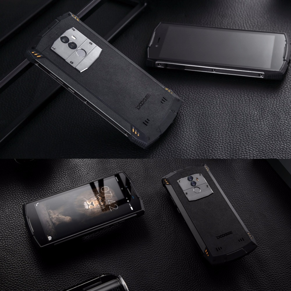 Image 5 - DOOGEE S55 Waterproof Smartphone 4GB RAM 64GB ROM 5500mAh MTK6750T Octa Core 5.5 inch Android 8.0 Dual SIM 13.0MP OTA 4G FDD LTE-in Cellphones from Cellphones & Telecommunications
