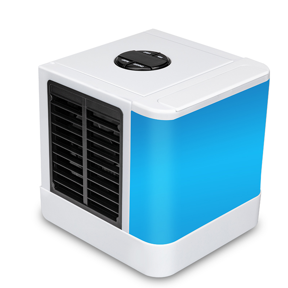 USB Portable Electric Fans Air Conditioner Air Cooler Mini Fan Table Fan Cooling For Home Office table desk mini fan cooling portable desktop usb mini air conditioner cooling small desk fan high quality cooler summer for gift