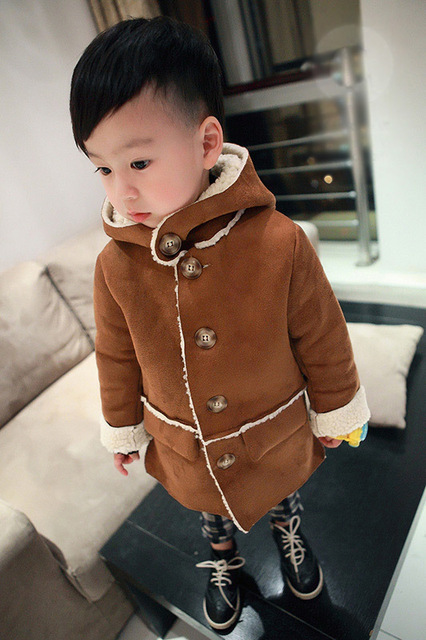 New 2017  Winter Children' s clothing Jacket  baby boys coats and jackets  outerwear  1-2-3-4-5-6 years