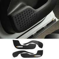 Car accessories Car Door protection Carbon fiber sticker Cover Car styling For Jaguar F Pace X761
