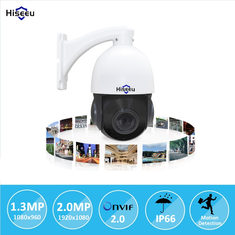 Mini 4 PTZ IP Camera High Speed Dome Camera IP 960P/1080P ( SONY IMX222 ) 18X Optical Zo ...