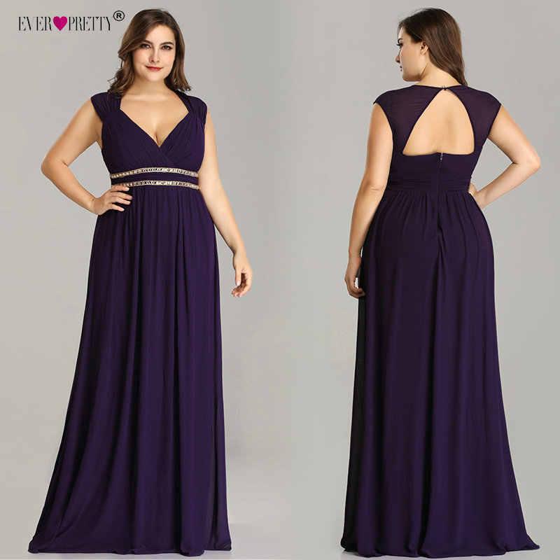 68d2ea453d58ed7 ... о Когда либо довольно плюс Размеры Длинные вечерние платья Для женщин  Элегантный бордовый V шеи шифон империи вечерние платье халат De Soiree  EP08697 на ...